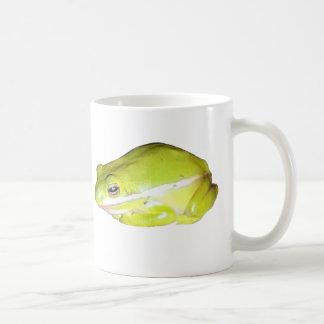 Green American Tree Frog Coffee Mug