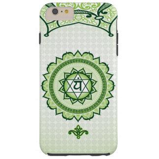 Green Anahata, 4th Chakra Phone case