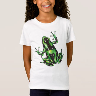 Green and Black Poison Dart Frog T-shirt