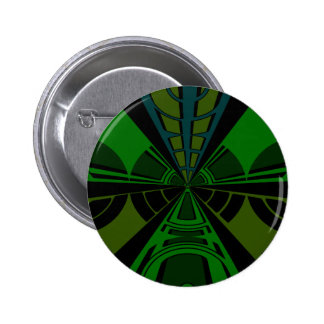Green and black rectangle design pins