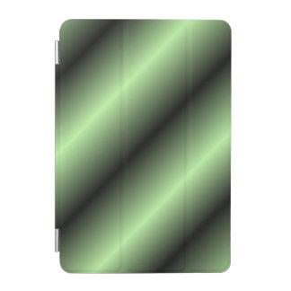 Green and Black Stripe iPad Mini Cover