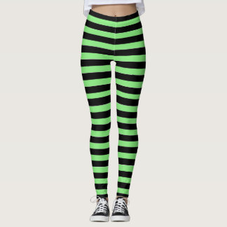Green and Black Witches Leggings