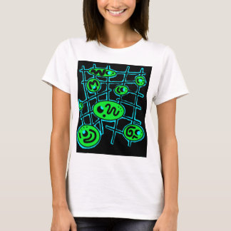 Green and blue abstraction T-Shirt