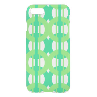 Green and Blue Chain Link Pattern iPhone 8/7 Case