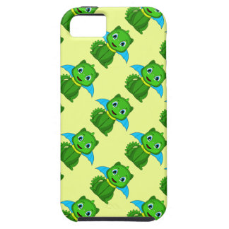 Green And Blue Chibi Dragon iPhone 5 Case