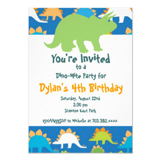 Dinosaur Party Invitations Announcements Zazzlecomau