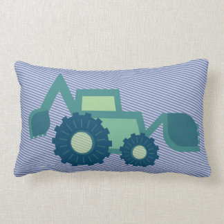 Green and blue kid' S digger Lumbar Cushion