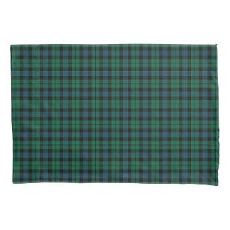 Green and Blue MacKay Clan Scottish Tartan Pillowcase