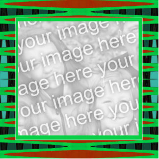 green and brown frame photo cut outs