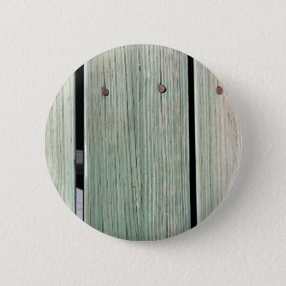 Green and Brown Wood Plank Walkway 6 Cm Round Badge