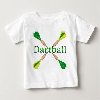 Green and Gold Dartball Darts Infant T-Shirt