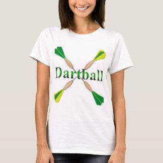 Green and Gold Dartball Darts T-Shirt