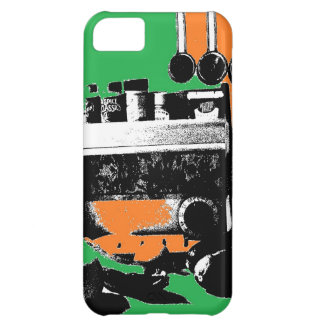 Green and Gold Kitchen Cover For iPhone 5C