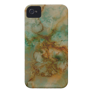 Green and Gold Marble iPhone4 Case