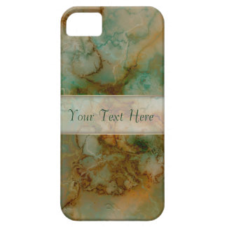 Green and Gold Marble iPhone 5/5S Cover