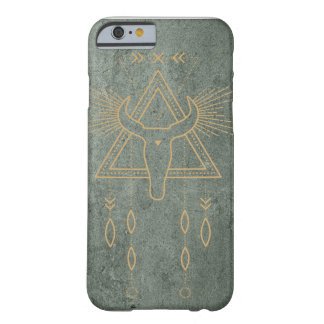 Green and Gold native inspired iphone case