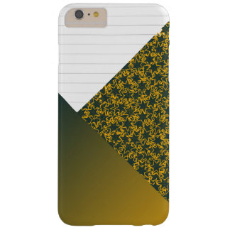 Green and Gold Star Team Spirit Sports Colors Barely There iPhone 6 Plus Case