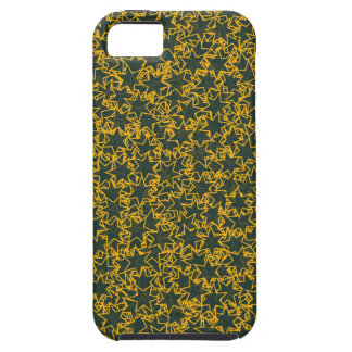 Green and Gold Star Team Spirit Sports Colors iPhone 5 Cover