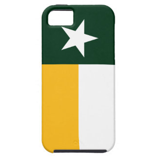 Green and Gold Texas Flag Case For The iPhone 5