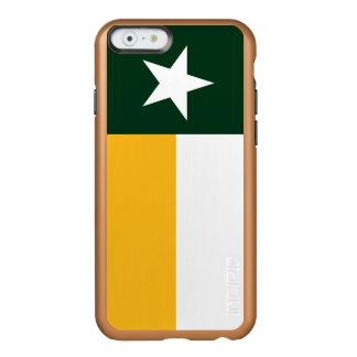 Green and Gold Texas Flag Incipio Feather® Shine iPhone 6 Case