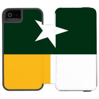 Green and Gold Texas Flag Incipio Watson™ iPhone 5 Wallet Case