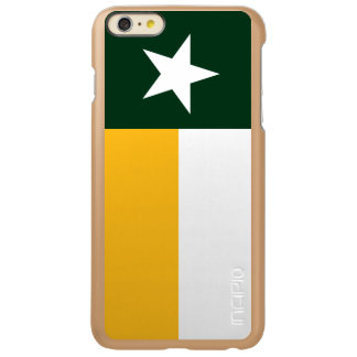Green and Gold Texas Flag