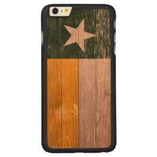 Green and Gold Texas Flag Old Painted Wood
