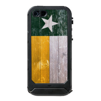 Green and Gold Texas Flag Old Painted Wood Incipio ATLAS ID™ iPhone 5 Case