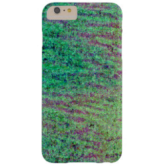 Green and maroon tiger pattern. barely there iPhone 6 plus case
