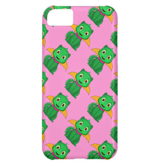 Green And Orange Chibi Dragon Cover For iPhone 5C