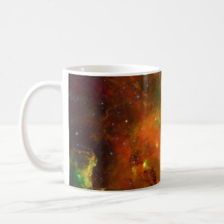 Green and Orange of the North American Nebula Coffee Mug