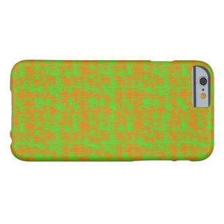 Green and Orange Splatter Paint Iphone Case Barely There iPhone 6 Case