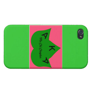 Green and Pink Ivy Iphone case