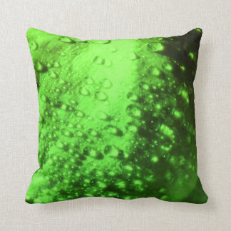Green and Powerful - Throw Pillow