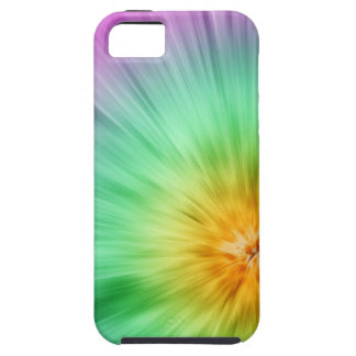 Green And Purple Tie Dye iPhone 5 Covers