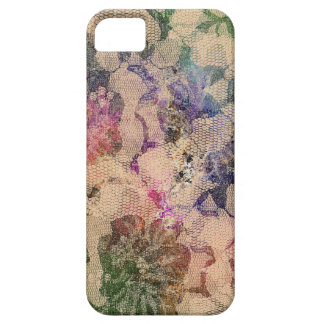 Green And Red lace Roses iPhone 5 Cover