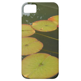 Green and Red Lilly pads iPhone 5 Cover