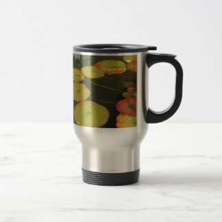 Green and Red Lilly pads Mugs