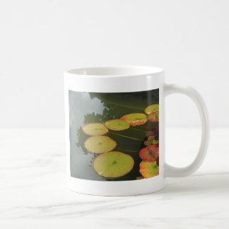 Green and Red Lilly pads Mug