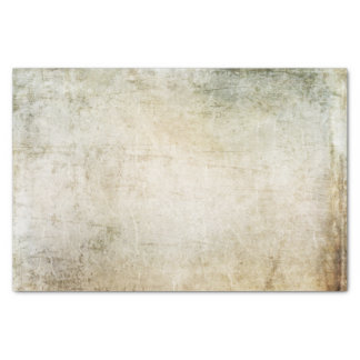 Green and Sepia Grunge Tissue Paper