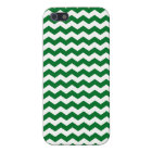 Green and white chevrons iPhone 5/5S cover