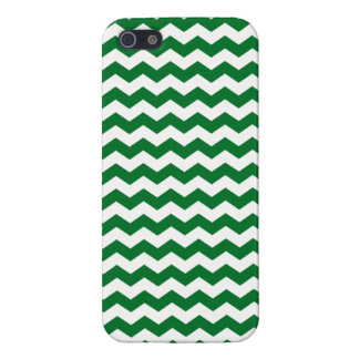 Green and white chevrons iPhone 5 covers