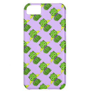 Green And Yellow Chibi Dragon iPhone 5C Covers