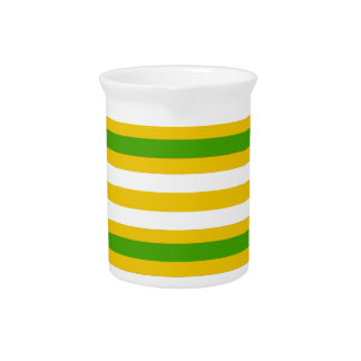 Green and Yellow Look Pitcher
