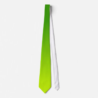 Green and Yellow Ombre Tie