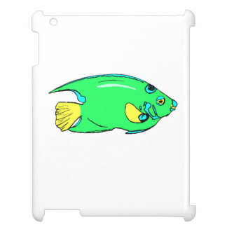 Green Angel Fish Case For The iPad 2 3 4