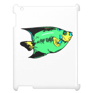 Green Angel Fish Cover For The iPad 2 3 4