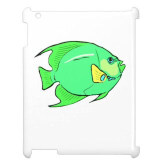 Green Angel Fish Case For The iPad