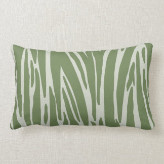 Green Animal Print Pattern American MoJo Pillows