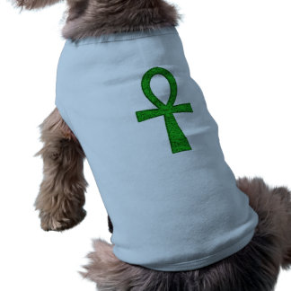 Green Ankh Pet Clothing